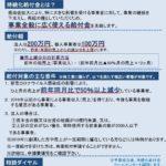 【持続化給付金 申請開始】のお知らせ